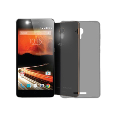 Softcase Ultrathin for Smartfren Andromax R - Hitam Clear