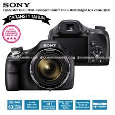 SONY Cyber-shot DSC-H400 (Garansi 1th) - Compact Camera H400 63x Optical Zoom