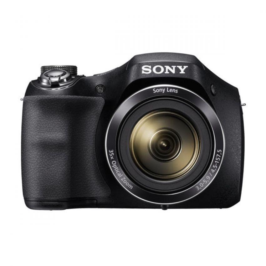 Sony Cybershot DSC-H300 Digital Camera - 20MP - 35x Optical Zoom - Hitam