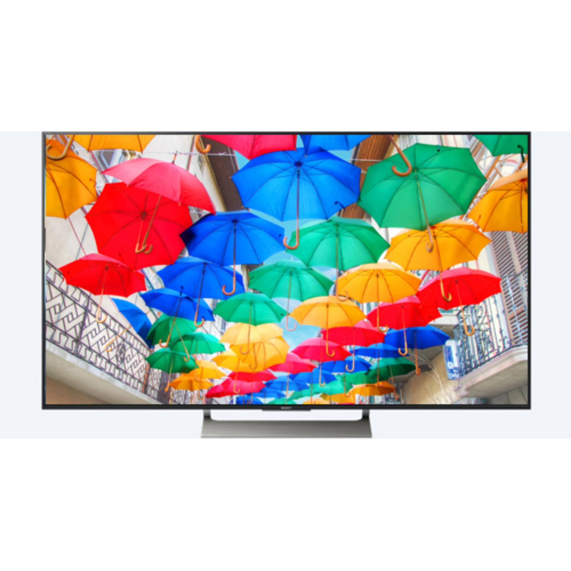 Price comparison Sony Led Smart TV Ultra HD 4K HDR Android KD55X9000E - New Product - Free Bracket