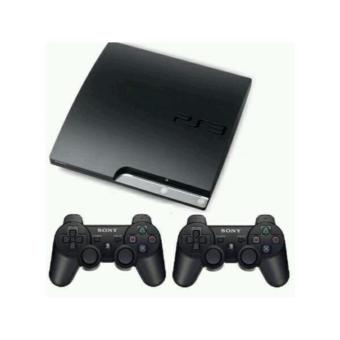 Sony Play Station 3 SLIM 120GB CFW VERSI TERBARU + 2 STICK PS3[BLACK]
