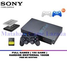 Sony Playstation 2 Fat HDD 160GB - 2 Silicone - Grade A