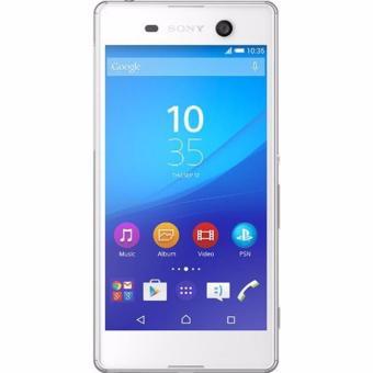 Sony Xperia M5 Dual 4G LTE Resmi - Putih - BNOB