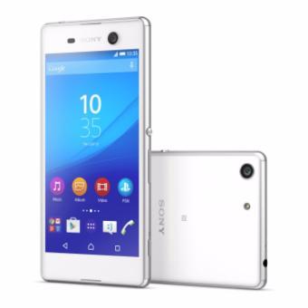 45% Sony Xperia M5 Dual 4G LTE Resmi - Putih - Ex Display