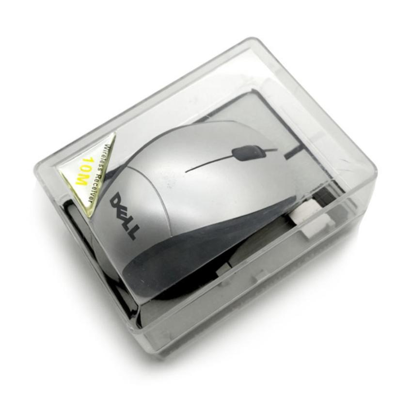SP DELL 2.4GHz Wireless Optical Mouse 001 MIKA With USB 2.0 Receiver for PC Laptop