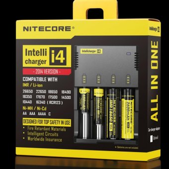 SP Nitecore Intellicharger Universal Battery Baterai Batre Charger Camera Kamera 4 Slot for Li-ion and NiMH - i4 AA AAA - 3