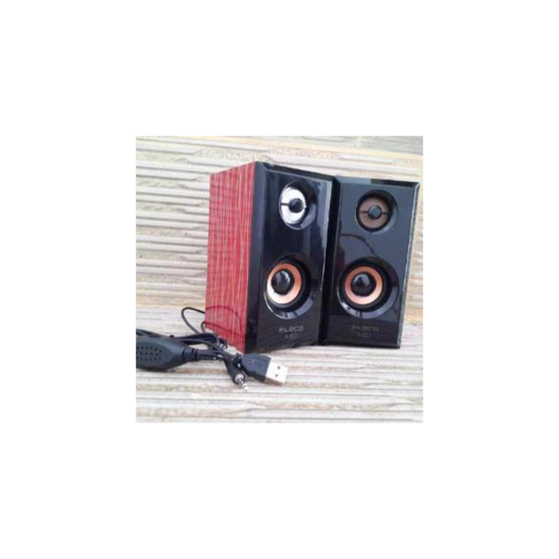 ... Speaker Aktif Kayu FLECO F-017 Extra Super Sound ...