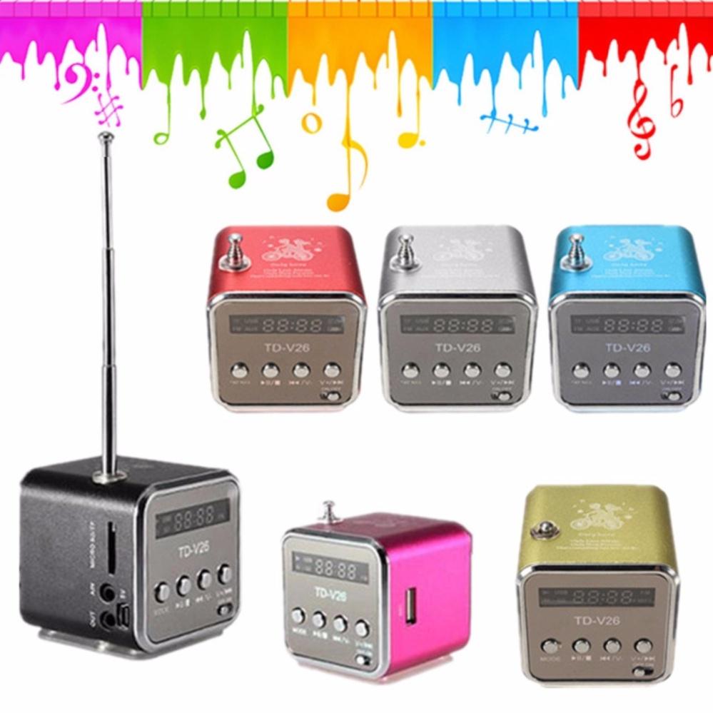 Speaker Aktif TD-V26 (layar LCD) TERLARIS ...
