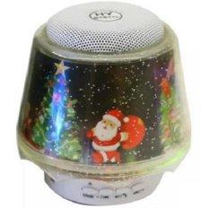 Speaker Christmast Bluetooth Speaker Table Lamp with LED Light -Multi-Color