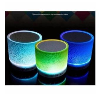 Speaker Mini wireless Bluetooth Superbass Stereo LED-Multi Colour BP - 2