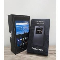 Spesifikasi Blackberry Aurora -RAM 4GB/32GB-Black + FlipCover