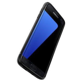 Spigen Capsule Ultra Rugged for Samsung Galaxy S7 Edge - Hitam - 4 .