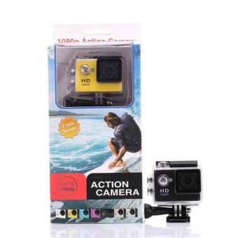 Sports Cam Action Camera Sport 1080P H264 Full HD DV No-WiFi - Hitam