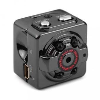 SQ8 Mini DV Camera 1080P Full HD Car DVR Aluminium - Black