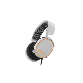 SteelSeries Arctis 5 with 7.1 DTS Headphone:X White RGB - 2