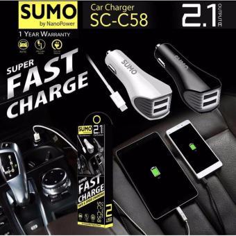 SUMO SC C58 saver usb super fast charger cas casan mobil aki charging speed Batok adaptor travel adaptive adapter charge