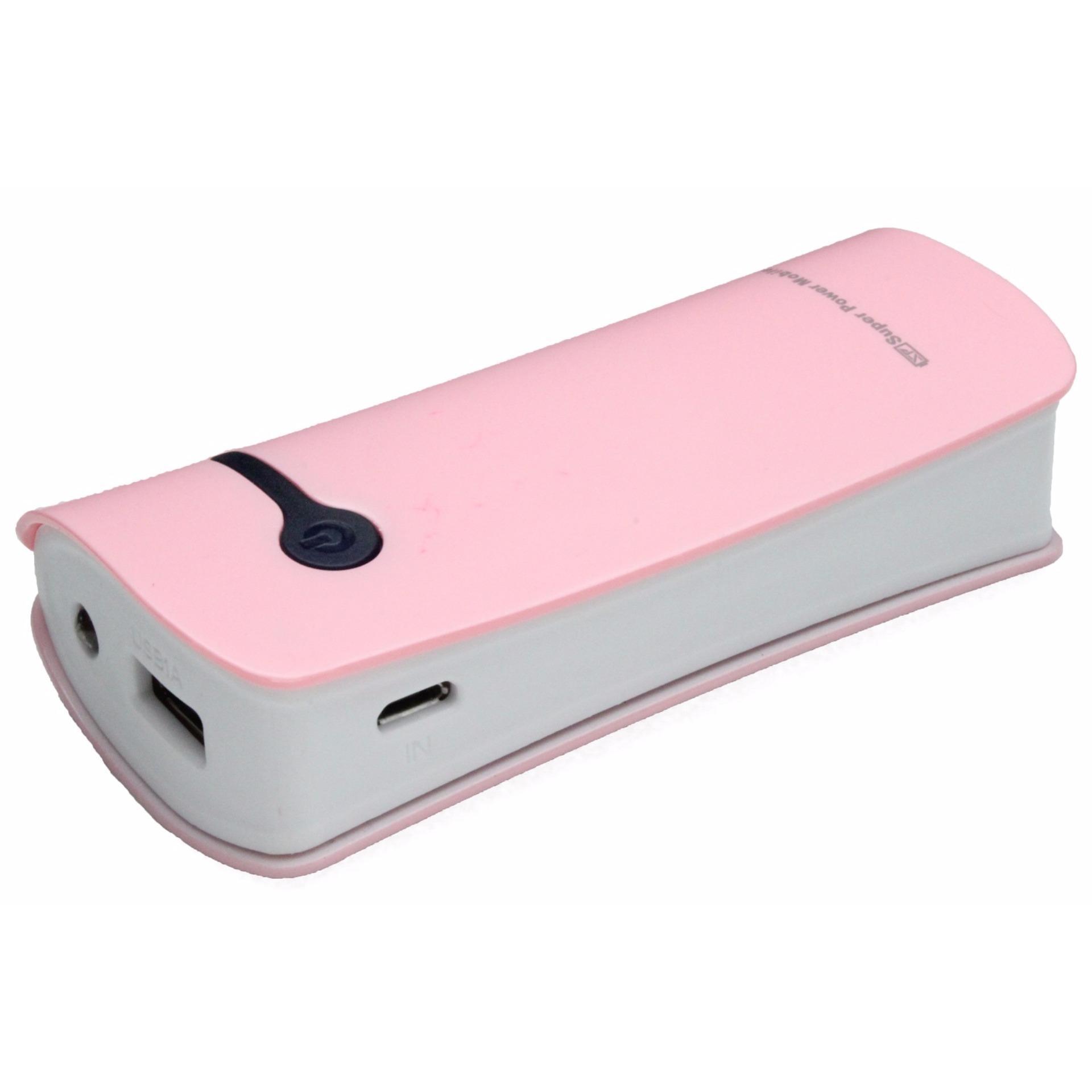 ... Super Power mobile SP506 Powerbank 5600 Mah pink ...