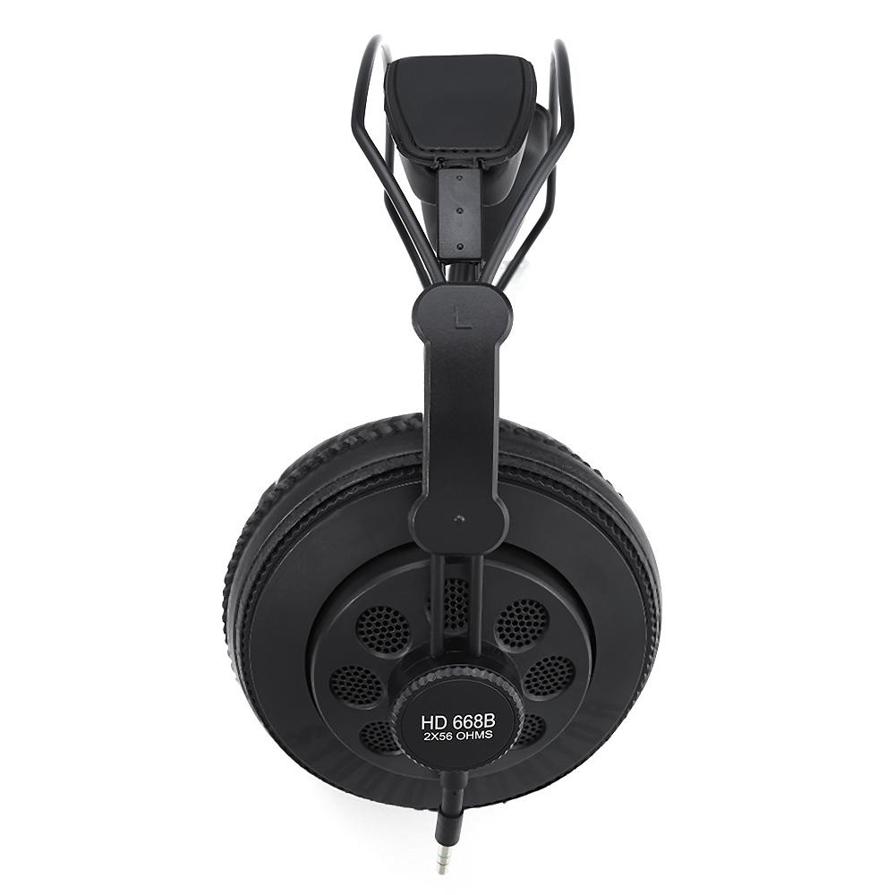 Superlux HD668B Semi-open Professional Studio Standard Dynamic Headphones - intl .