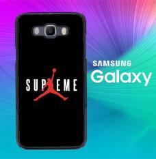 Supreme x Jordan Black X5933 Casing Custom Hardcase Samsung Galaxy A7 2015 Case Cover