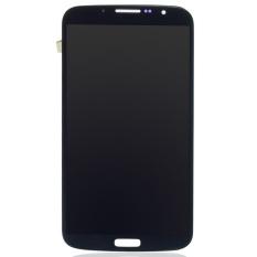 Susunan tampilan layar LCD untuk Samsung Galaxy Mega 6.3 i9200 I9205 Hitam -
