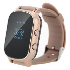T58 Smart Mini GPS Tracker Watch OLED Bracelet for Kids SOSButtonTwo-way Communication GSM Phone Wristwatch - intl