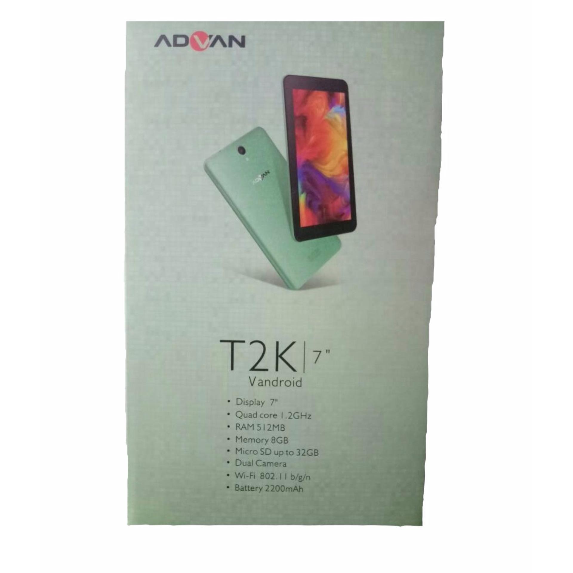 Harga Baru Tab Advan T2k Tablet Wifi 8gb Vandroid Camera Terbaik Murah