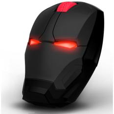TaffWare Mouse Wireless Optical Iron Man 2.4Ghz - Black