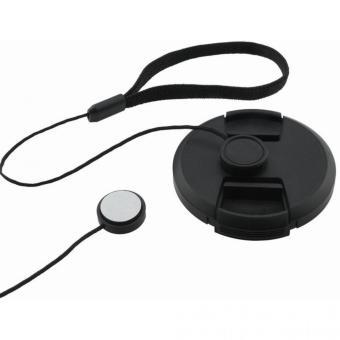 Tali Tutup Lensa Kamera Anti Lost Lens Cap Strap - Black - 4