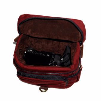 Tas Kamera Firefly Ivers maroon / Camera Bag - 4