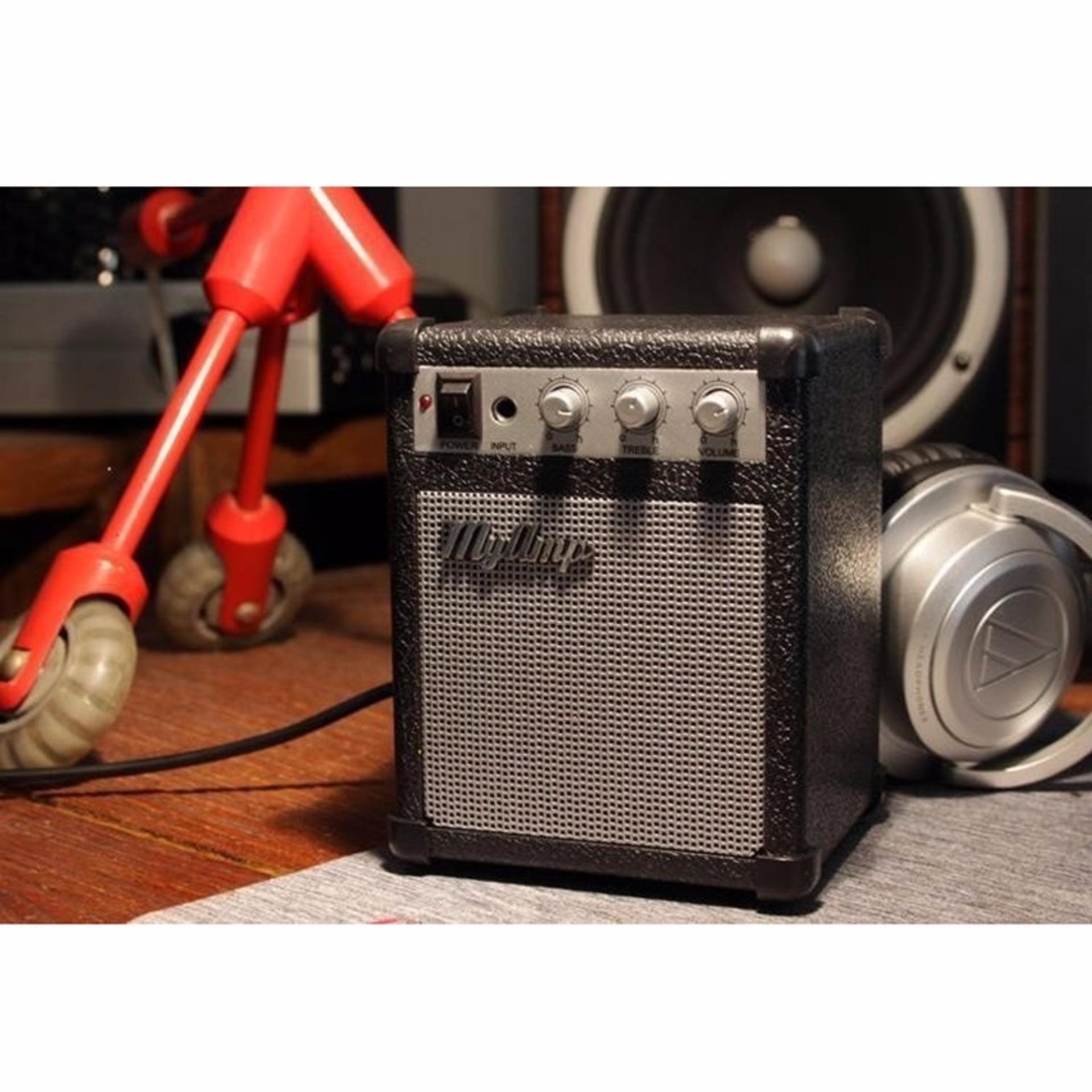 Teiton Portable Speaker MyAmp Classic Amplifier Music Guitar MP3 Player iPod iPhone Ponsel Handphone Laptop Aksesoris