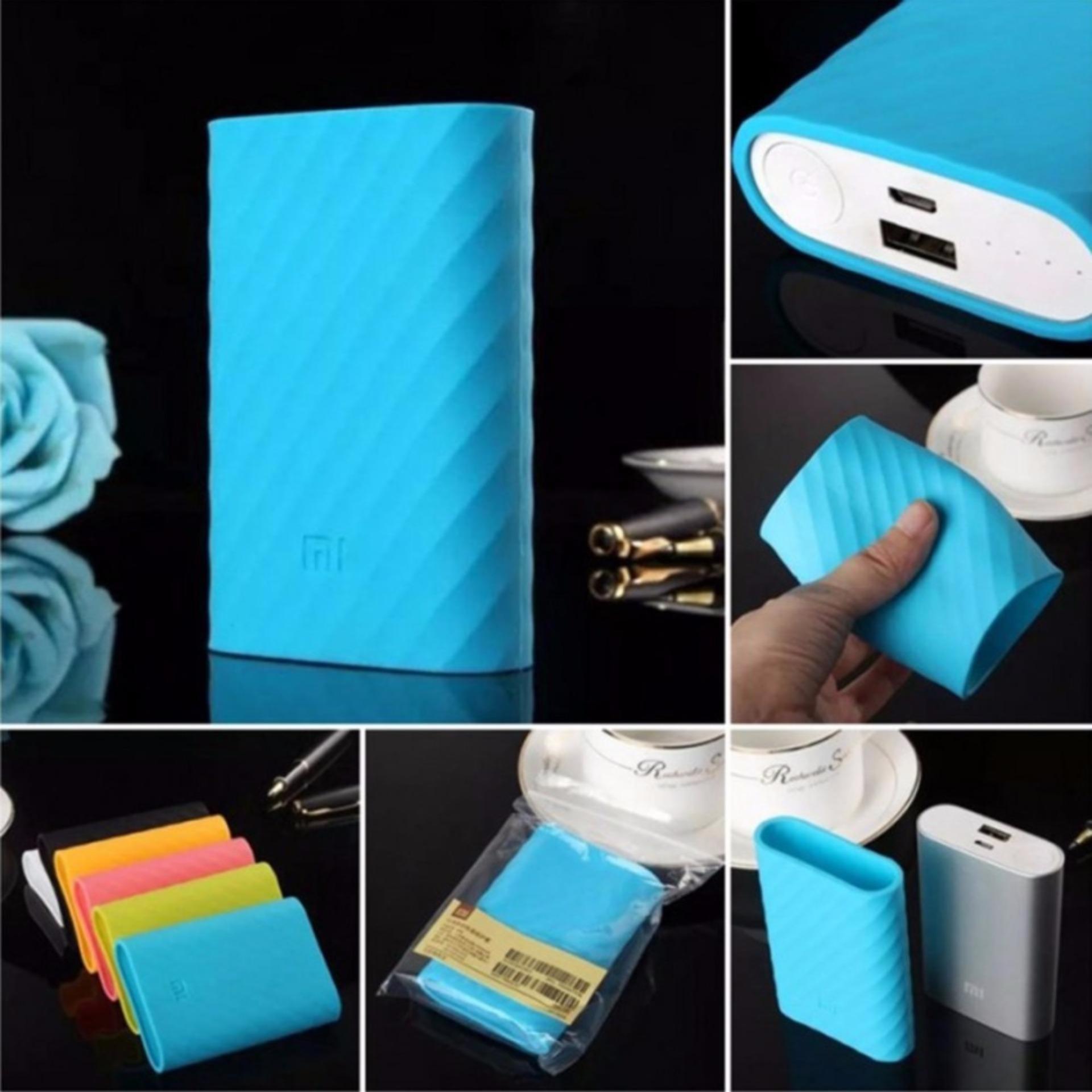 Xiaomi Silicon Case For Mi Power Bank 10000 Mah Biru Daftar Harga Silicone Powerbank Free Teiton Cover Sarung Pelindung 10000mah Oem Black