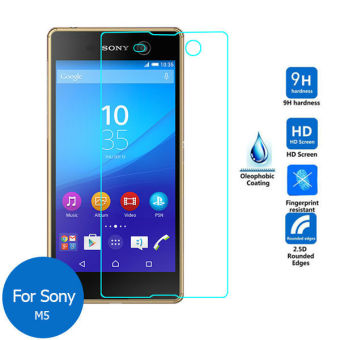 Tempered Glass Smile Screen Protector for Sony Xperia M5