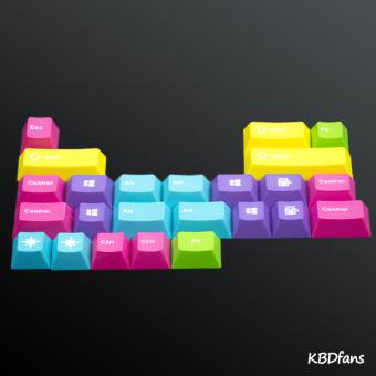 Terbuat Dari Mesin Keyboard Suplemen Keycaps