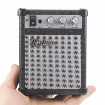 harga Termurah !! MyAmp Classic Amplifier Portable Speaker Black Hitam -Pengeras Suara Mini Replika Amplifir Gitar Guitar Unik KlasikVulome Treble Bass Audio Port 3.5mm 3.5 Mm HP Smartphone Ipod MP3Player Lazada.co.id