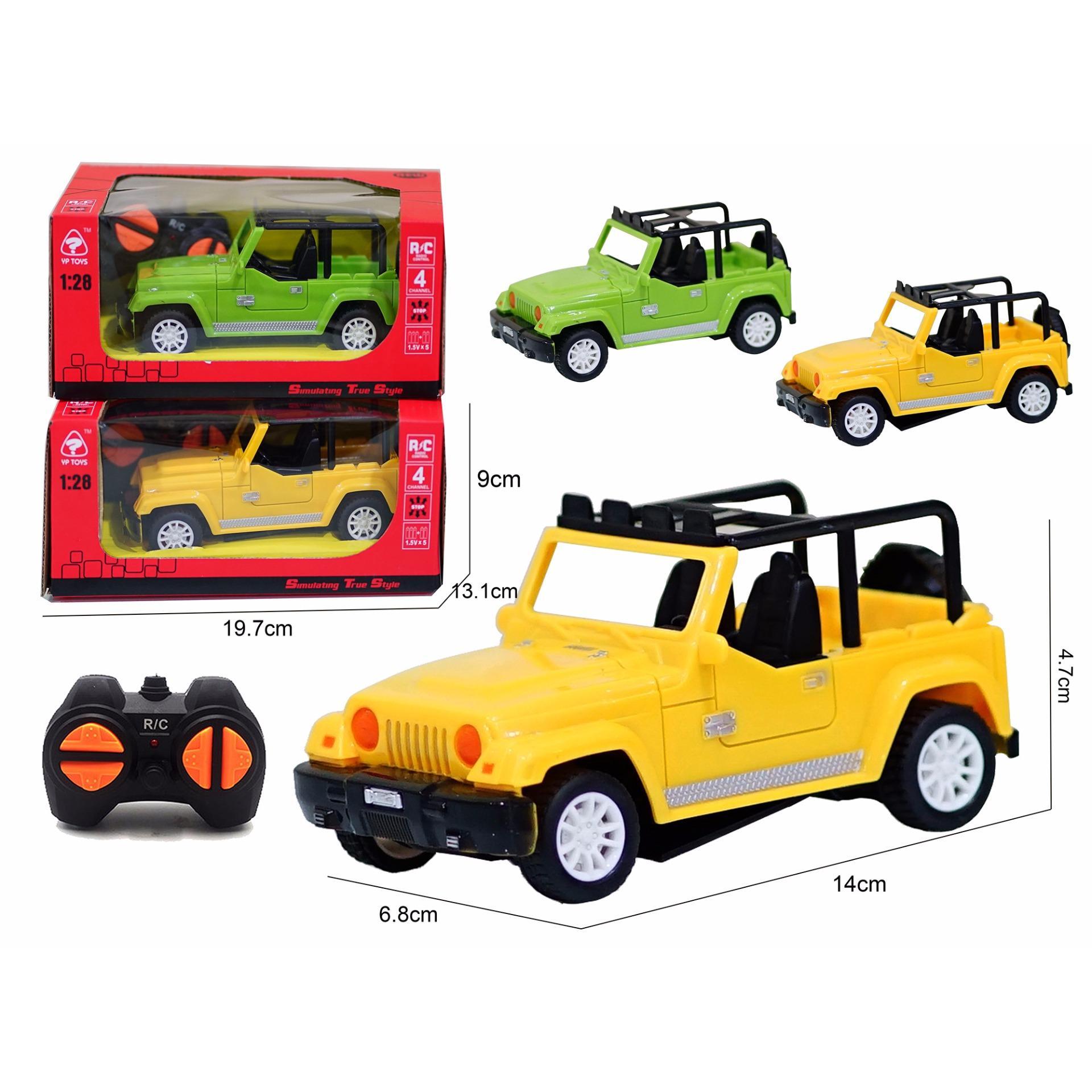 TM Mainan Anak RC Mobil Remot Mini Jeep 6138C 1:28 (Warna Random)