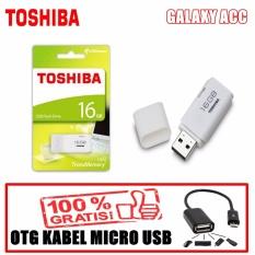 Toshiba Flasdisk 16GB + Bonus OTG Kabel Micro USB