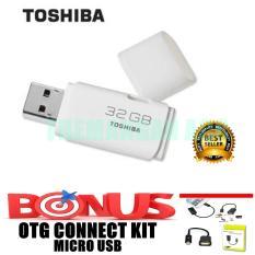 Toshiba Flashdisk 32GB + Bonus OTG Micro USB