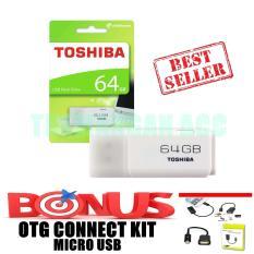 Toshiba Flashdisk 64GB + Bonus OTG Kabel Micro USB