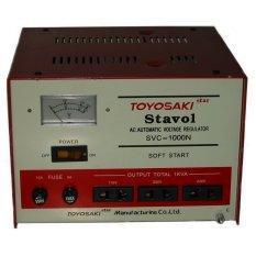 Toyosaki SVC-1000N Stabilizer 1000VA - Merah-Putih