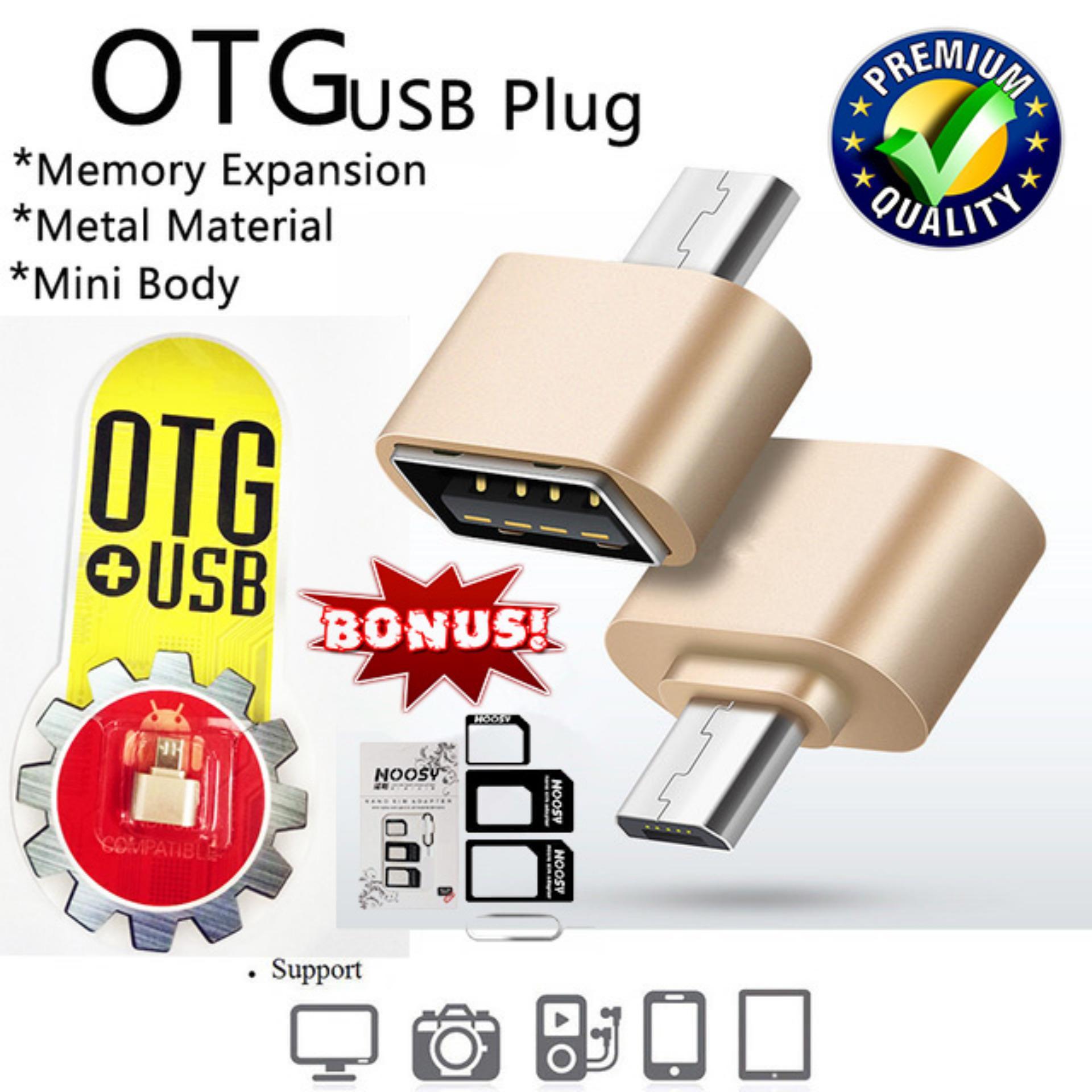 Harga Penawaran Trends Mini Micro Usb Otg Data Cable Adapter 20 Nossy Sim Card Hub Converter For Android Smartphone Samsung Galaxy
