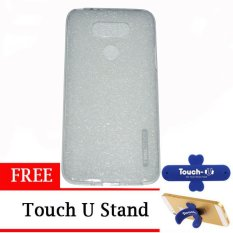 TUNEDESIGN LiteAir UltraThin for LG G5 - Clear + Free Touch U Stand