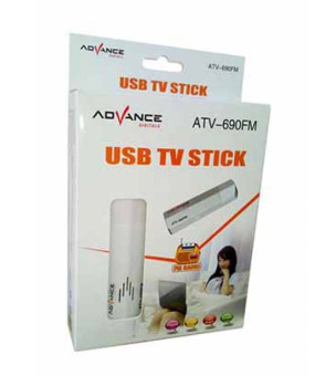 harga Tv Tunner Advance Usb Tv Stick Atv-690 Lazada.co.id