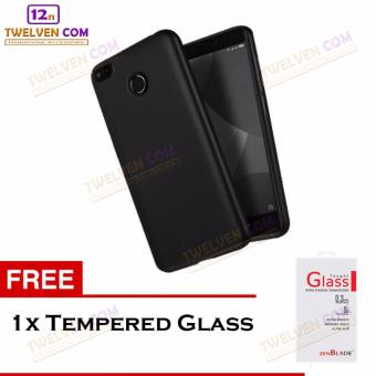 Twelven Case Slim Matte For Xiaomi Redmi 4x - Free Tempered Glass