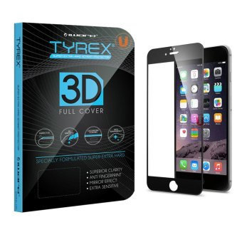 Tyrex iPhone 6 / 6s 3D Full Cover Tempered Glass Screen Protector -Hitam
