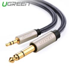 UGREEN 3.5 mm ke 6.35 mm jack adaptor kabel audio (0.5 m) - International