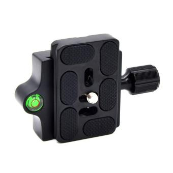 UINN Professional KZ-20 Camera Tripod Monopod Quick Release Clamp Adapter Plate Black - 3