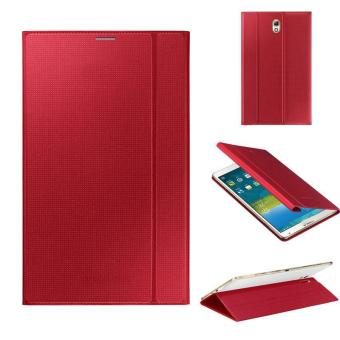 Ultra Slim Leather Cover Case For Samsung Galaxy Tab S 8.4Inch T700Red - intl