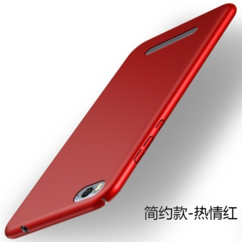 Ultra-thin Matte PC Hard Back Cover Case For Xiao Mi 4i - intl