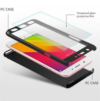 Harga Ultra tipis 360 Full Body cakupan perlindungan case dengan pelindung layar anti gores untuk Oppo A57 Terbaru klik gambar.