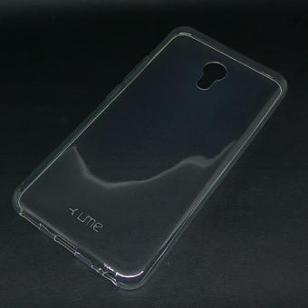 Ultrathin Softcase UME TPU untuk Meizu M5 Casing Ultra thin Soft case Silikon Silicone - Transparan